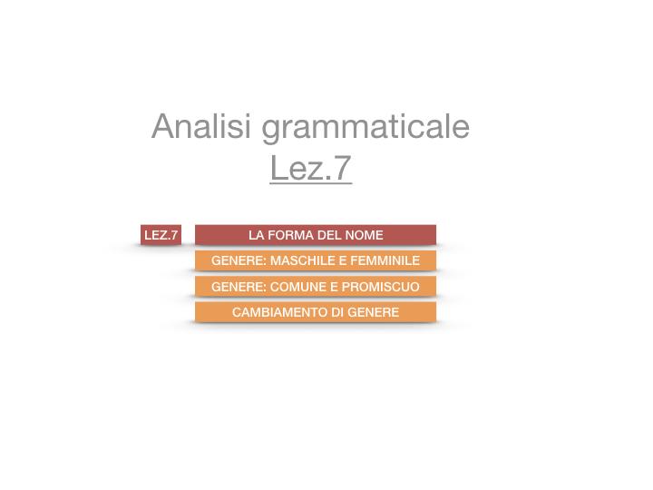 7.1.GRAMMATICA_NOMI_FORMA_GENERE_SIMULAZIONE.001