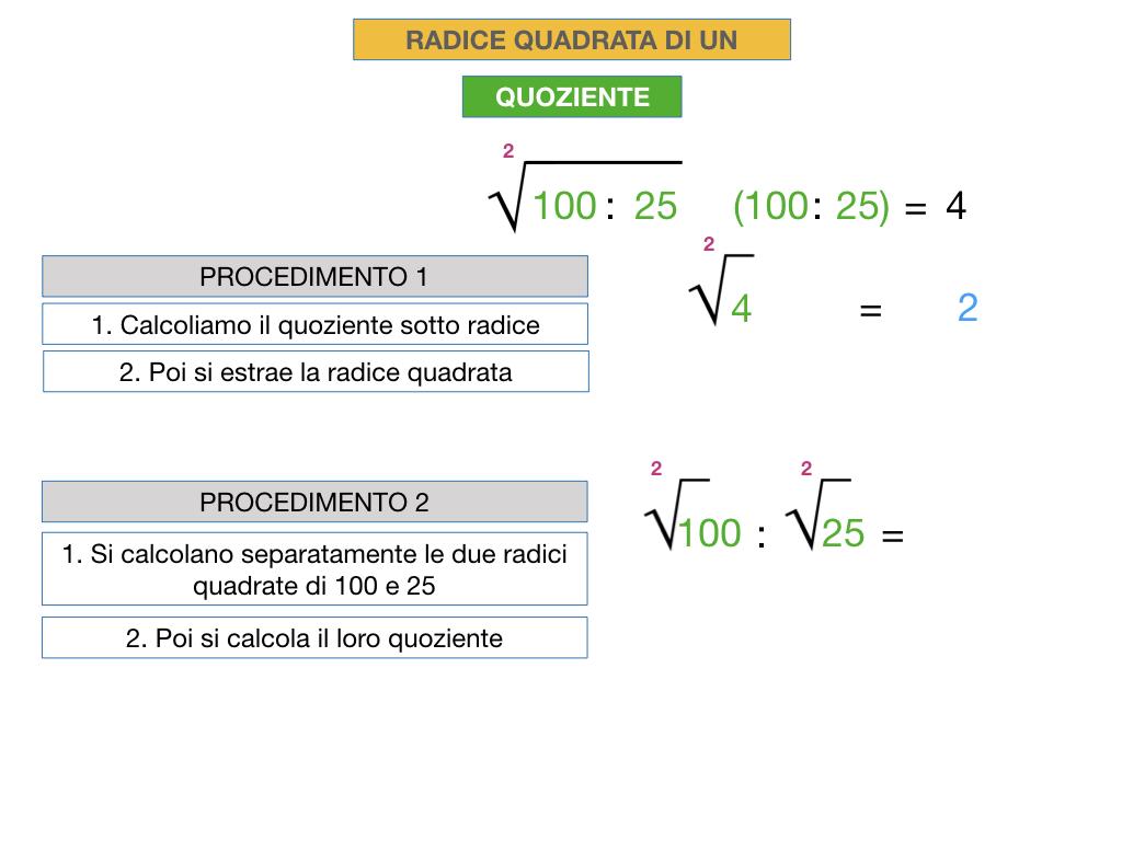 12.PROPRIETA' DELLE RADICI QUADRATE_SIMULAZIONE.030