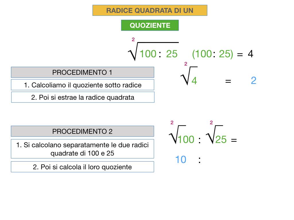 12.PROPRIETA' DELLE RADICI QUADRATE_SIMULAZIONE.031