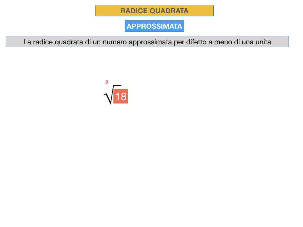 RADICE QUADRATA APPROSSIMATA_SIMULAZIONE.030