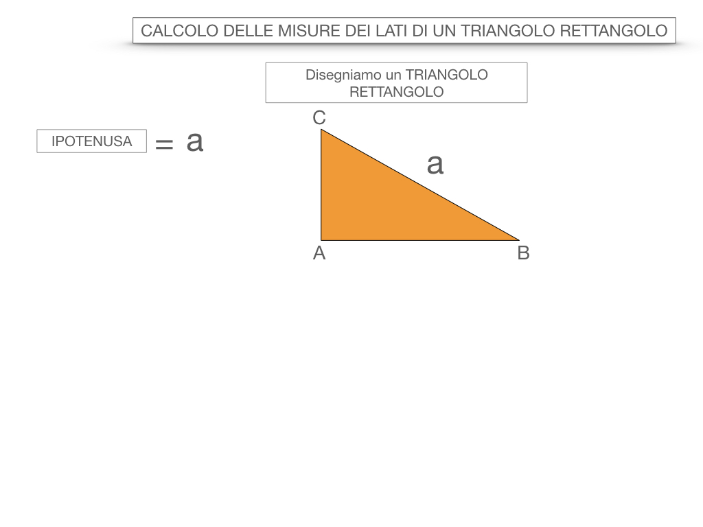 15. CALCOLO DELLE MISURE DEI LATI DI UN TRIANGOLO RETTANGOLO_SIMULAZIONE.011