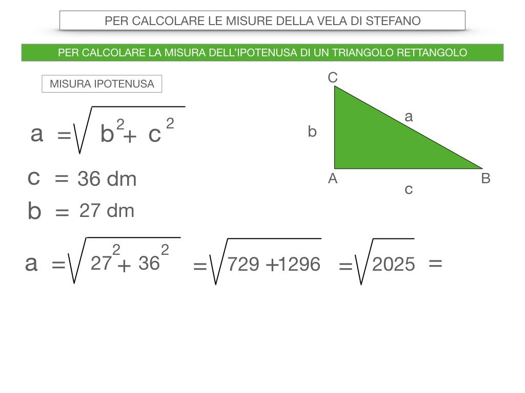 15. CALCOLO DELLE MISURE DEI LATI DI UN TRIANGOLO RETTANGOLO_SIMULAZIONE.046