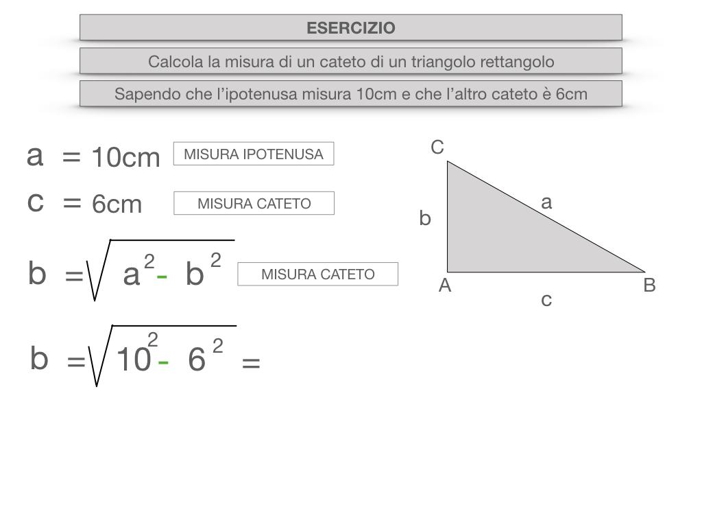 15. CALCOLO DELLE MISURE DEI LATI DI UN TRIANGOLO RETTANGOLO_SIMULAZIONE.054