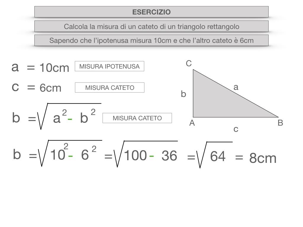 15. CALCOLO DELLE MISURE DEI LATI DI UN TRIANGOLO RETTANGOLO_SIMULAZIONE.057