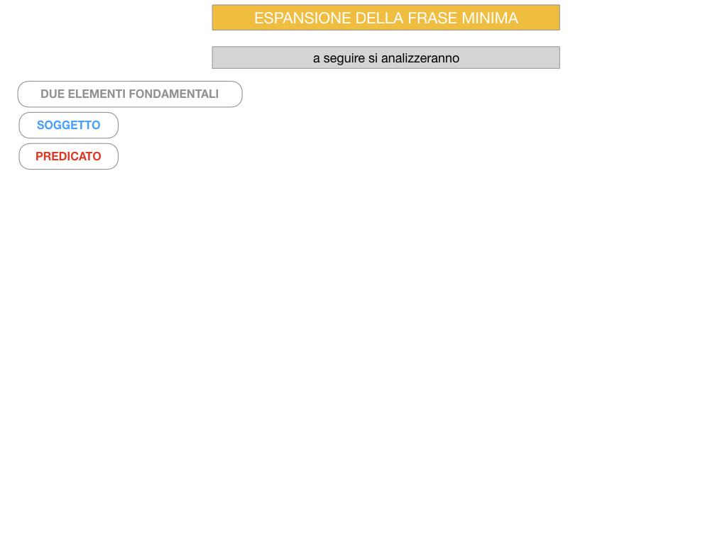 8. L'ESPANSIONE DELLA FRASE MINIMA _SIMULAZIONE.070