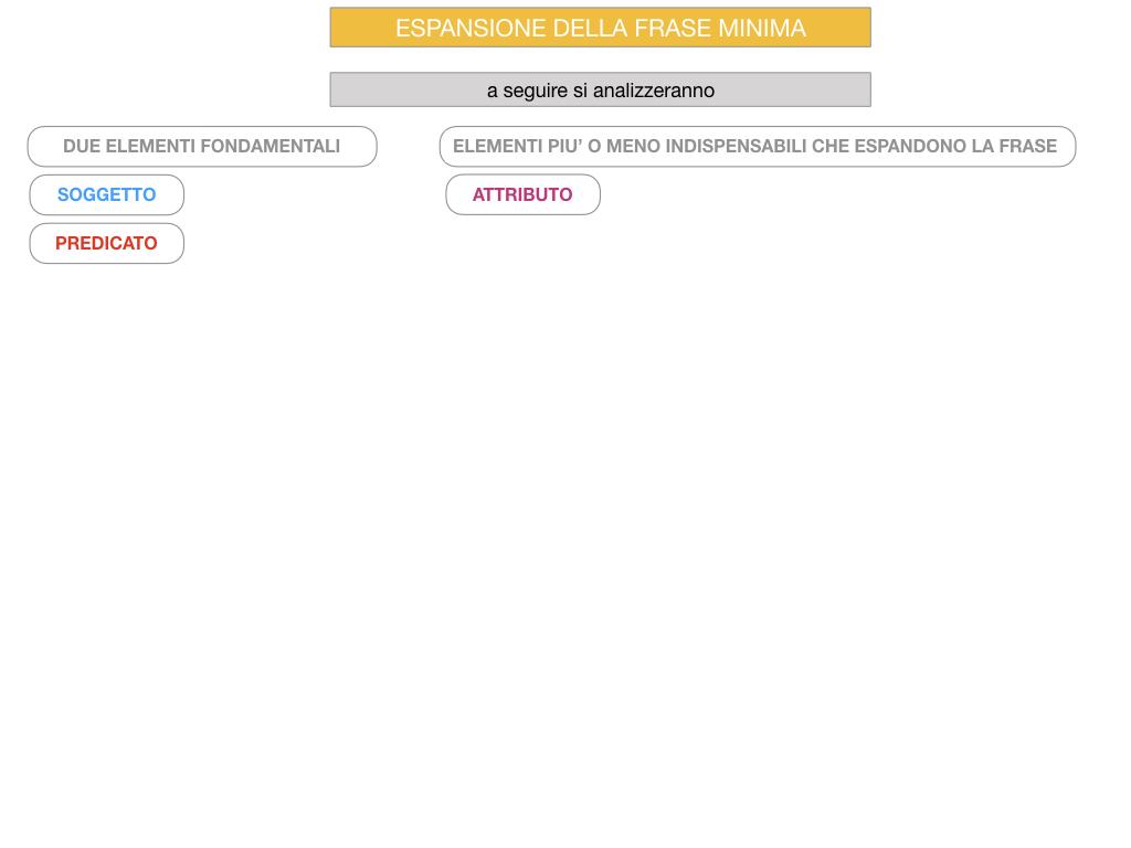 8. L'ESPANSIONE DELLA FRASE MINIMA _SIMULAZIONE.072