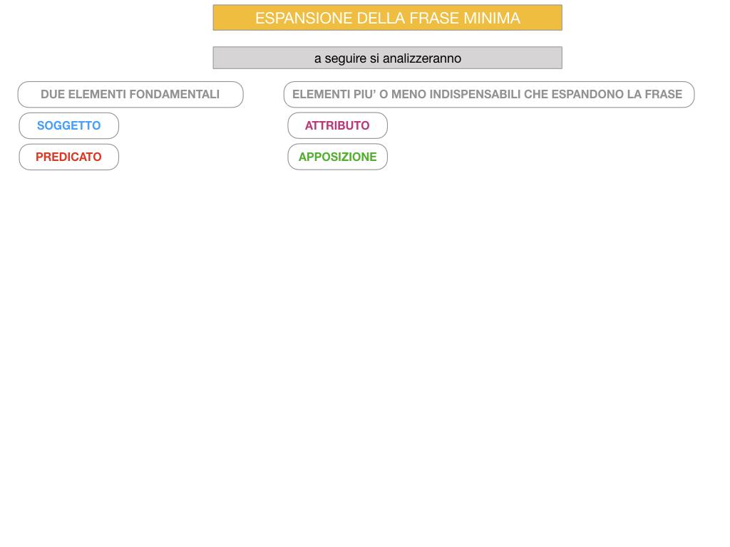 8. L'ESPANSIONE DELLA FRASE MINIMA _SIMULAZIONE.073