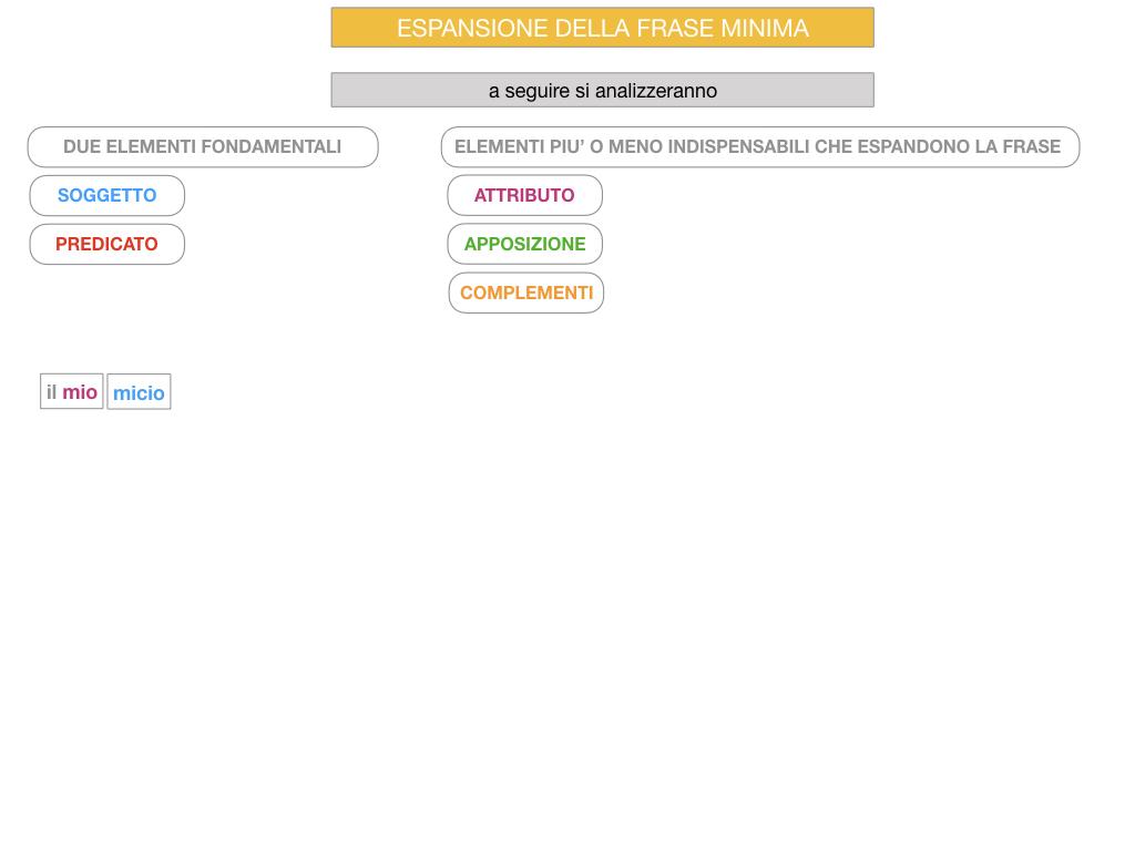 8. L'ESPANSIONE DELLA FRASE MINIMA _SIMULAZIONE.076