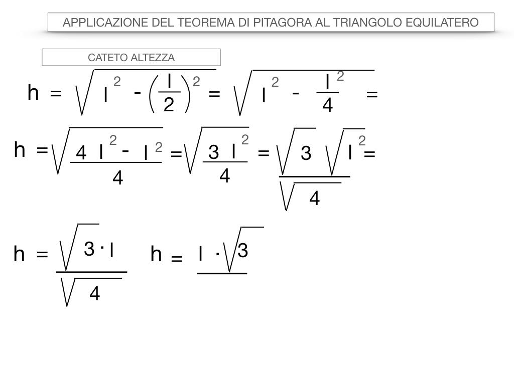 19. APPLICAZIONE DEL TEOREMA DI PITAGORA AL TRIANGOLO EQUILATERO_SIMULAZIONE.030