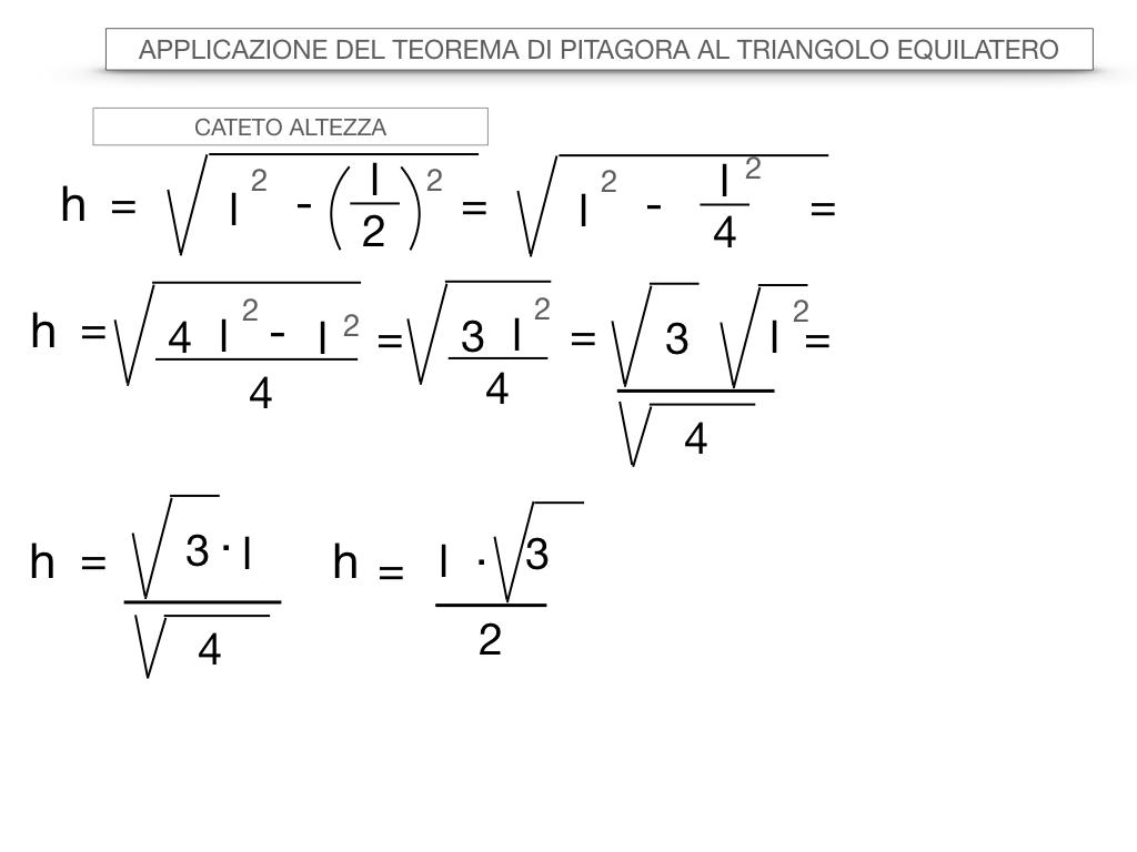 19. APPLICAZIONE DEL TEOREMA DI PITAGORA AL TRIANGOLO EQUILATERO_SIMULAZIONE.031