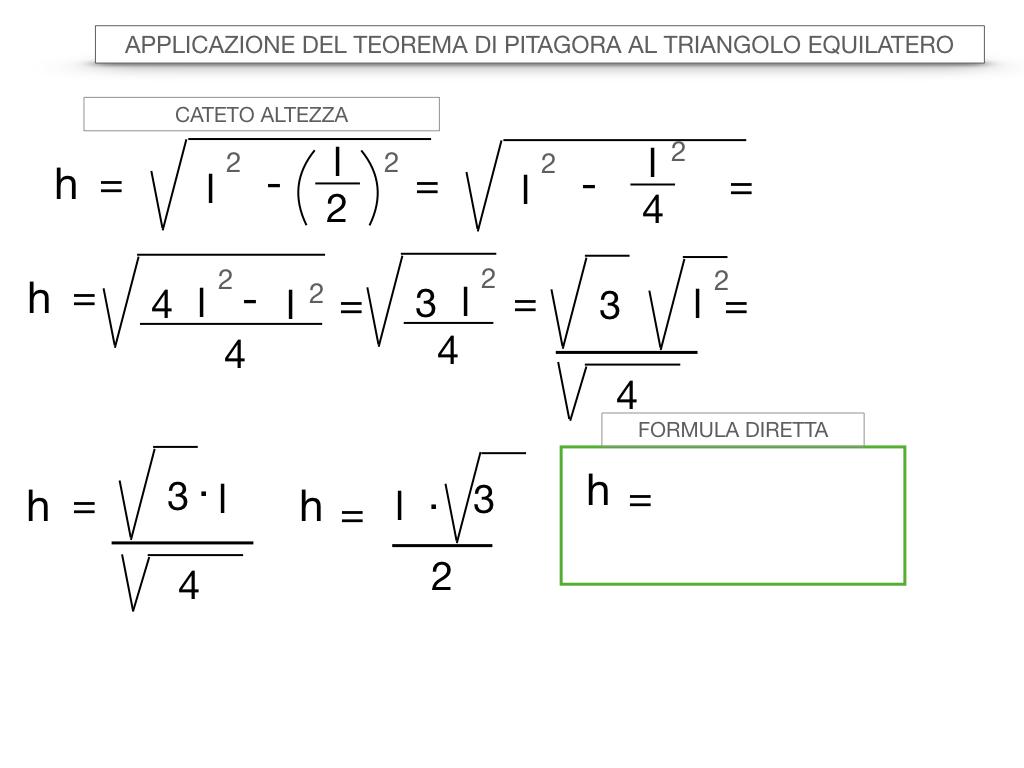 19. APPLICAZIONE DEL TEOREMA DI PITAGORA AL TRIANGOLO EQUILATERO_SIMULAZIONE.032