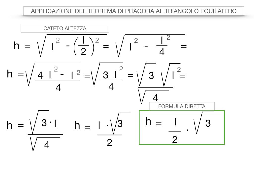 19. APPLICAZIONE DEL TEOREMA DI PITAGORA AL TRIANGOLO EQUILATERO_SIMULAZIONE.034