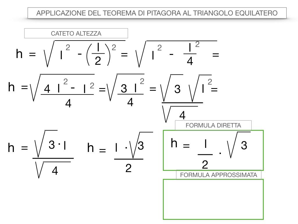 19. APPLICAZIONE DEL TEOREMA DI PITAGORA AL TRIANGOLO EQUILATERO_SIMULAZIONE.035