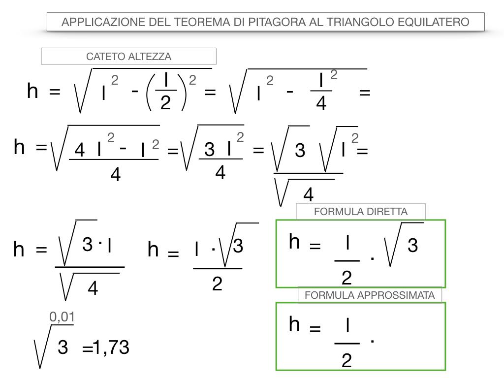 19. APPLICAZIONE DEL TEOREMA DI PITAGORA AL TRIANGOLO EQUILATERO_SIMULAZIONE.038