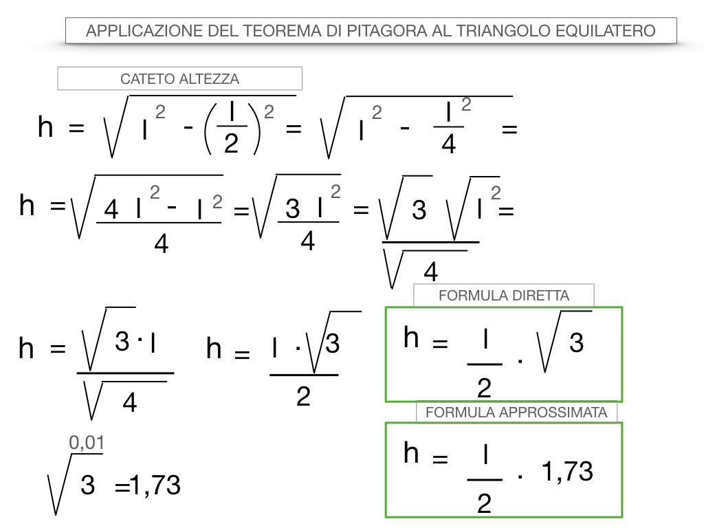 19. APPLICAZIONE DEL TEOREMA DI PITAGORA AL TRIANGOLO EQUILATERO_SIMULAZIONE.039