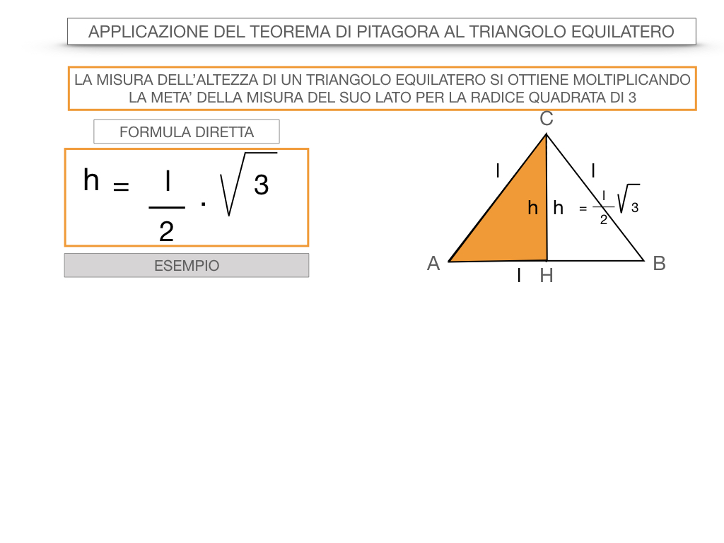 19. APPLICAZIONE DEL TEOREMA DI PITAGORA AL TRIANGOLO EQUILATERO_SIMULAZIONE.044
