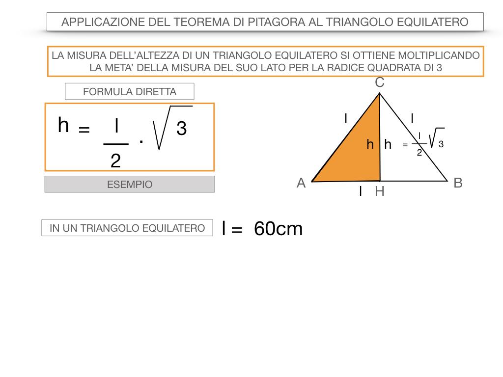 19. APPLICAZIONE DEL TEOREMA DI PITAGORA AL TRIANGOLO EQUILATERO_SIMULAZIONE.045