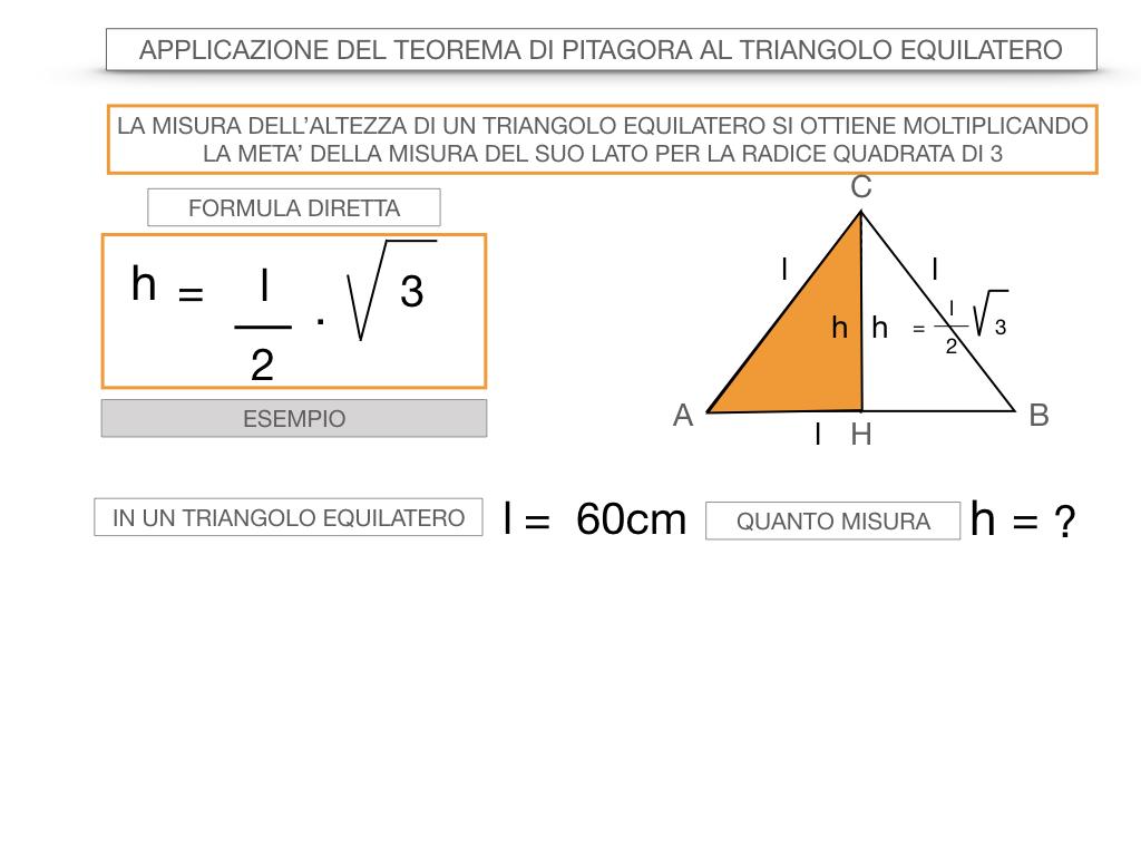 19. APPLICAZIONE DEL TEOREMA DI PITAGORA AL TRIANGOLO EQUILATERO_SIMULAZIONE.046