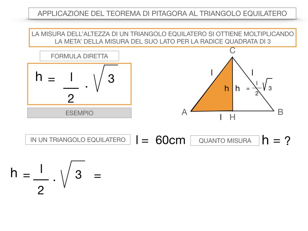 19. APPLICAZIONE DEL TEOREMA DI PITAGORA AL TRIANGOLO EQUILATERO_SIMULAZIONE.049