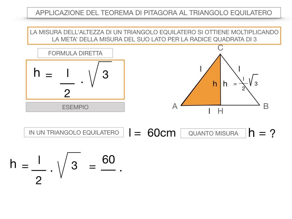 19. APPLICAZIONE DEL TEOREMA DI PITAGORA AL TRIANGOLO EQUILATERO_SIMULAZIONE.050