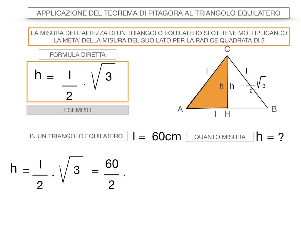 19. APPLICAZIONE DEL TEOREMA DI PITAGORA AL TRIANGOLO EQUILATERO_SIMULAZIONE.051
