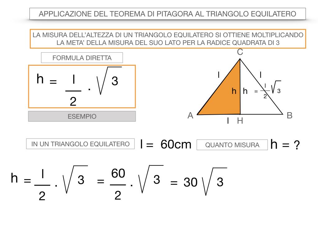 19. APPLICAZIONE DEL TEOREMA DI PITAGORA AL TRIANGOLO EQUILATERO_SIMULAZIONE.054