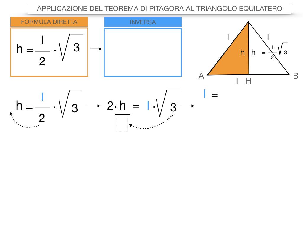 19. APPLICAZIONE DEL TEOREMA DI PITAGORA AL TRIANGOLO EQUILATERO_SIMULAZIONE.070