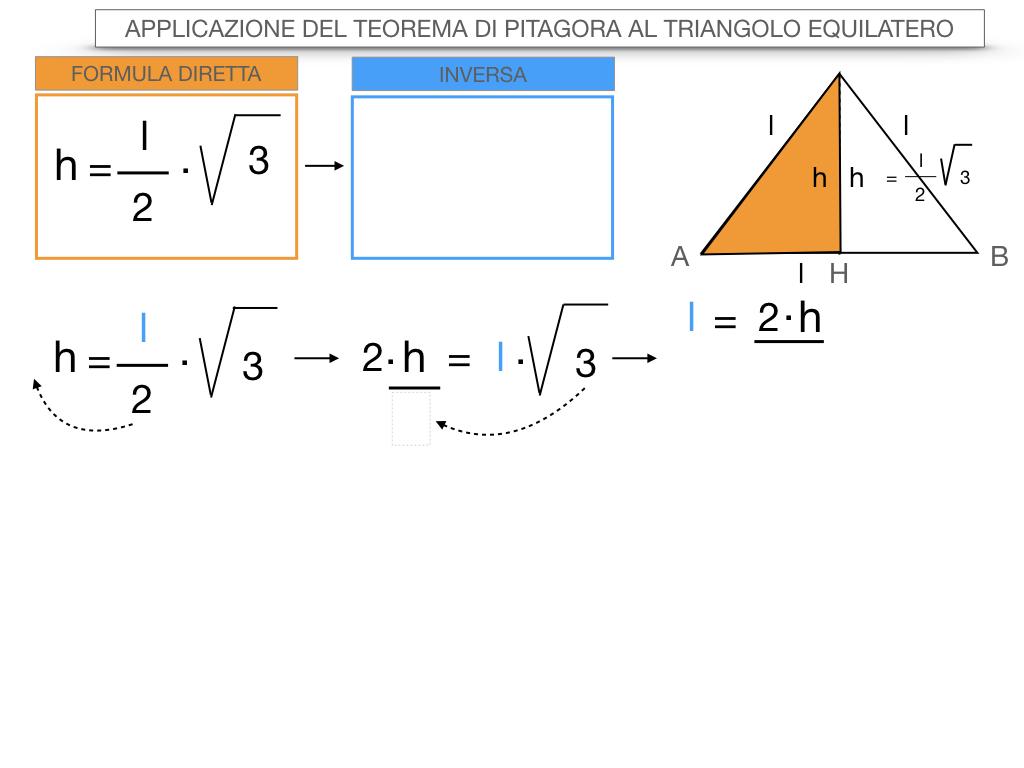 19. APPLICAZIONE DEL TEOREMA DI PITAGORA AL TRIANGOLO EQUILATERO_SIMULAZIONE.071