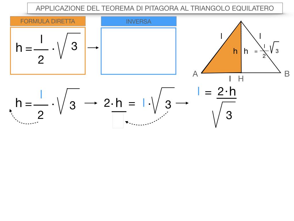 19. APPLICAZIONE DEL TEOREMA DI PITAGORA AL TRIANGOLO EQUILATERO_SIMULAZIONE.072
