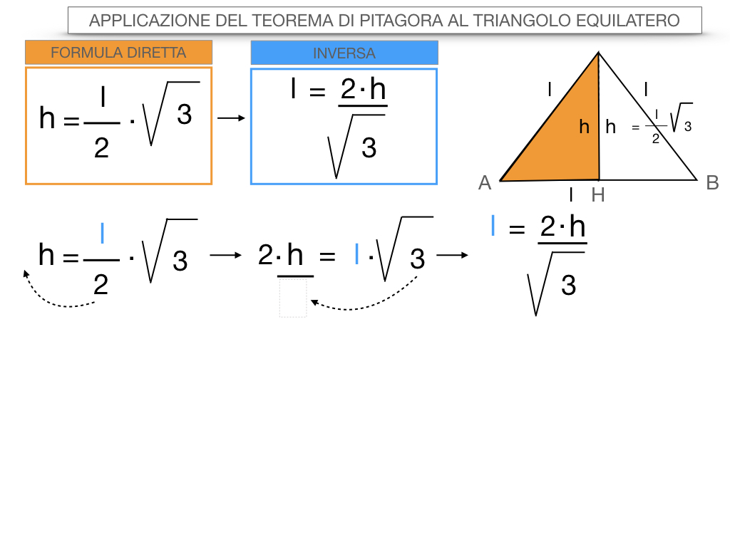 19. APPLICAZIONE DEL TEOREMA DI PITAGORA AL TRIANGOLO EQUILATERO_SIMULAZIONE.073