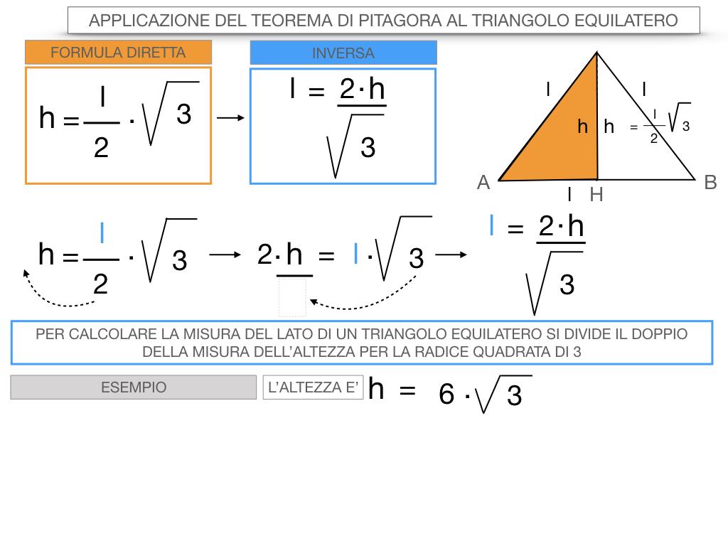 19. APPLICAZIONE DEL TEOREMA DI PITAGORA AL TRIANGOLO EQUILATERO_SIMULAZIONE.076