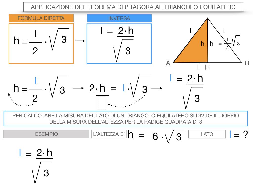 19. APPLICAZIONE DEL TEOREMA DI PITAGORA AL TRIANGOLO EQUILATERO_SIMULAZIONE.080