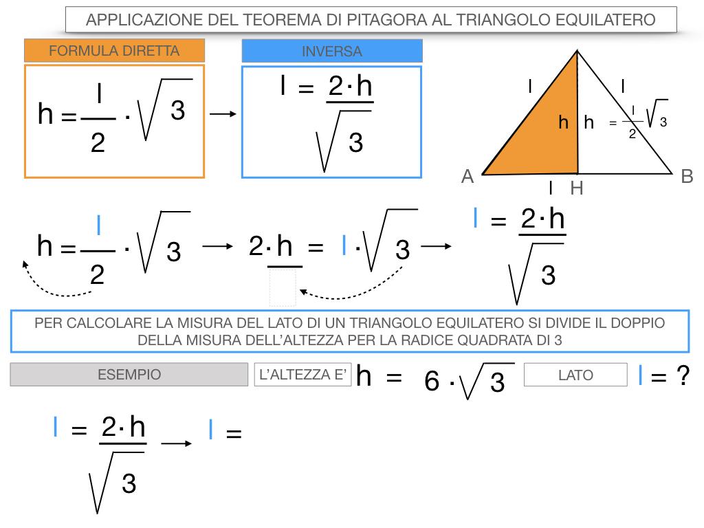 19. APPLICAZIONE DEL TEOREMA DI PITAGORA AL TRIANGOLO EQUILATERO_SIMULAZIONE.081