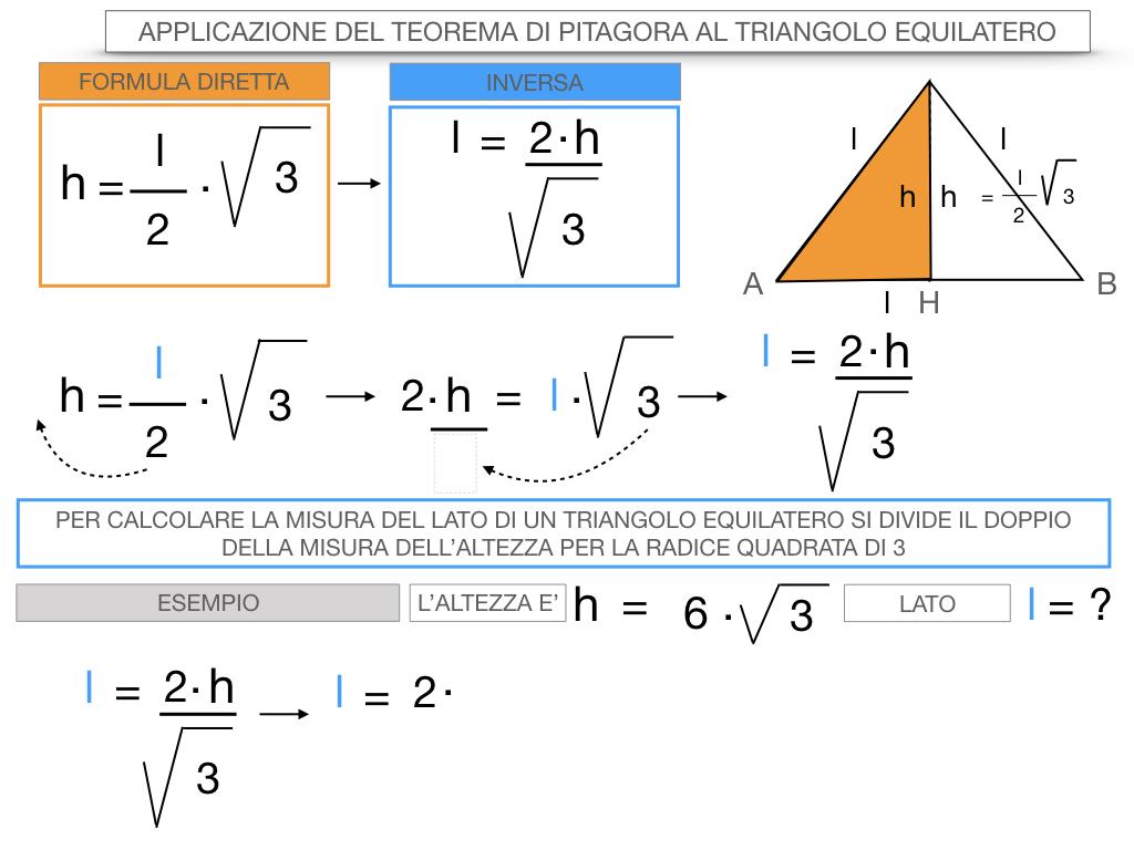 19. APPLICAZIONE DEL TEOREMA DI PITAGORA AL TRIANGOLO EQUILATERO_SIMULAZIONE.082