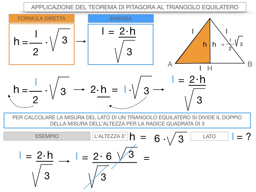 19. APPLICAZIONE DEL TEOREMA DI PITAGORA AL TRIANGOLO EQUILATERO_SIMULAZIONE.085