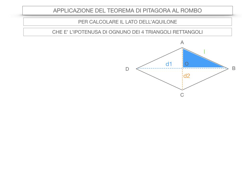 20. APPLICAZIONE DEL TEOREMA DI PITAGORA AL ROMBO_SIMULAZIONE.043