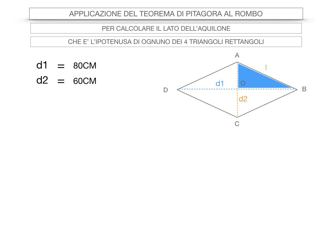 20. APPLICAZIONE DEL TEOREMA DI PITAGORA AL ROMBO_SIMULAZIONE.045
