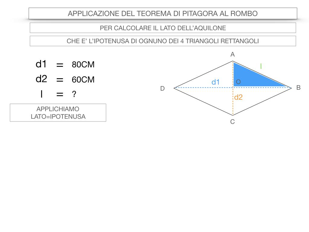 20. APPLICAZIONE DEL TEOREMA DI PITAGORA AL ROMBO_SIMULAZIONE.046