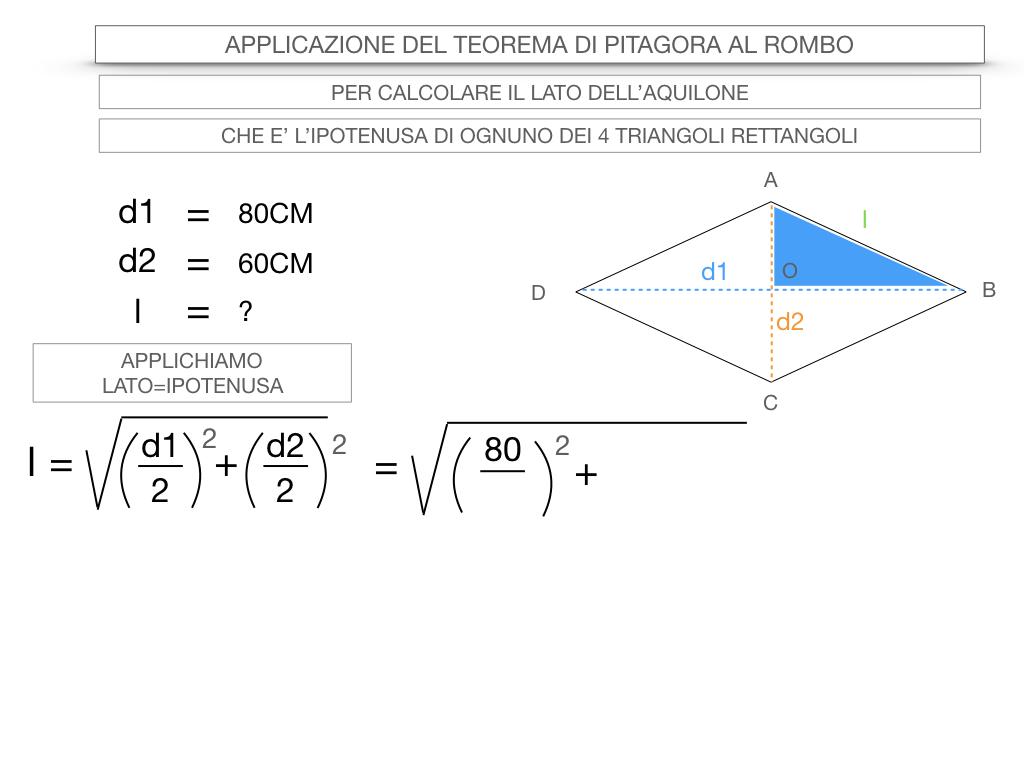 20. APPLICAZIONE DEL TEOREMA DI PITAGORA AL ROMBO_SIMULAZIONE.049