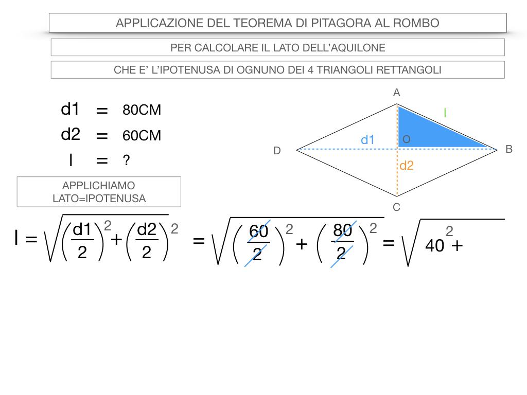 20. APPLICAZIONE DEL TEOREMA DI PITAGORA AL ROMBO_SIMULAZIONE.053