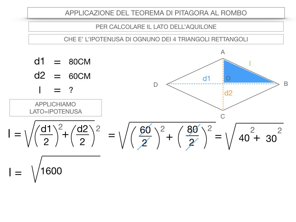 20. APPLICAZIONE DEL TEOREMA DI PITAGORA AL ROMBO_SIMULAZIONE.055