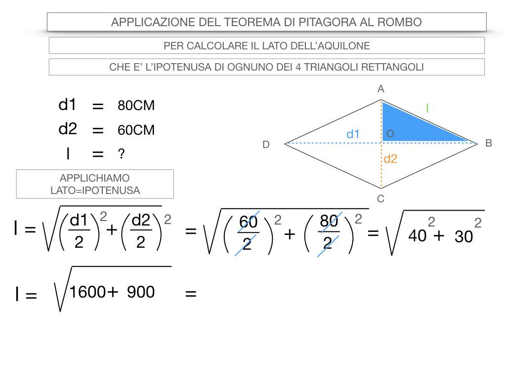 20. APPLICAZIONE DEL TEOREMA DI PITAGORA AL ROMBO_SIMULAZIONE.056