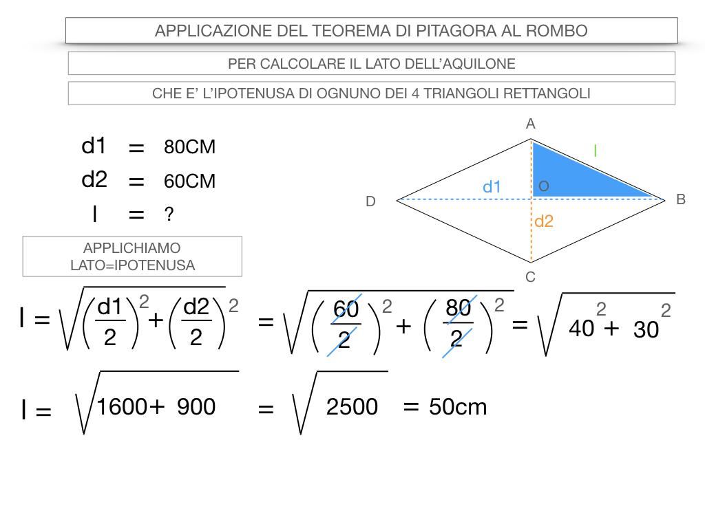20. APPLICAZIONE DEL TEOREMA DI PITAGORA AL ROMBO_SIMULAZIONE.058