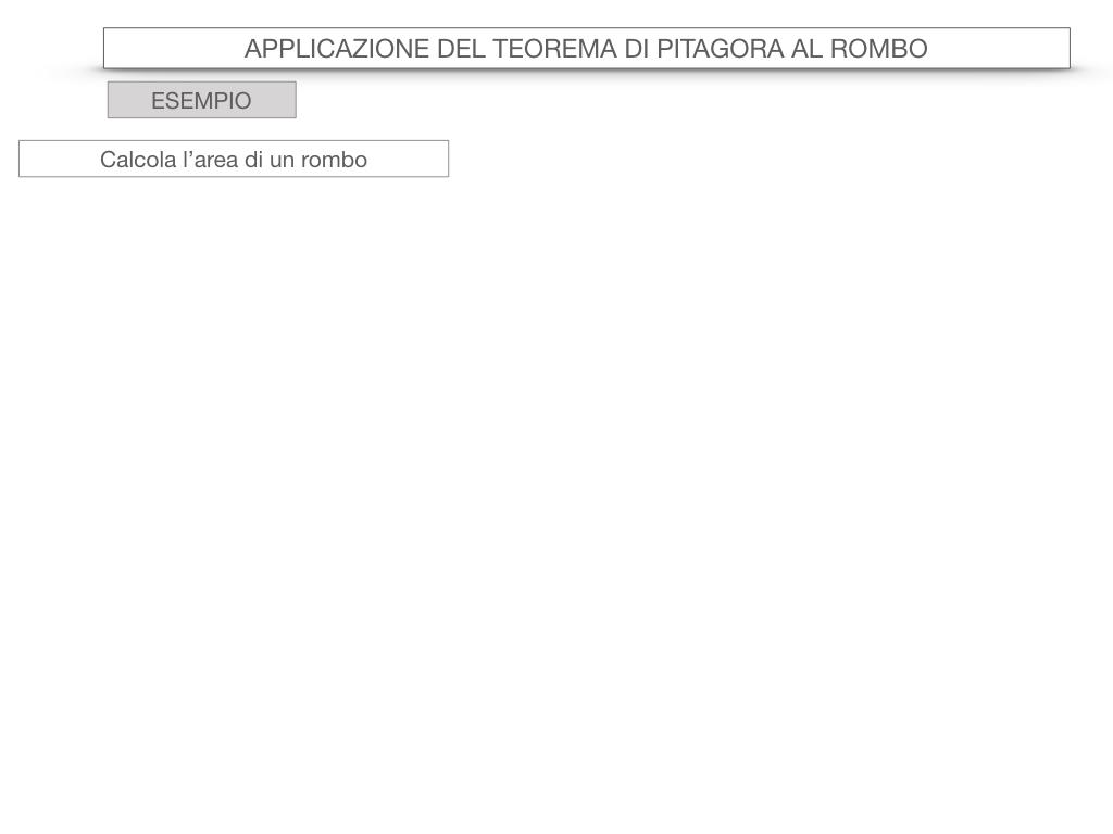 20. APPLICAZIONE DEL TEOREMA DI PITAGORA AL ROMBO_SIMULAZIONE.060