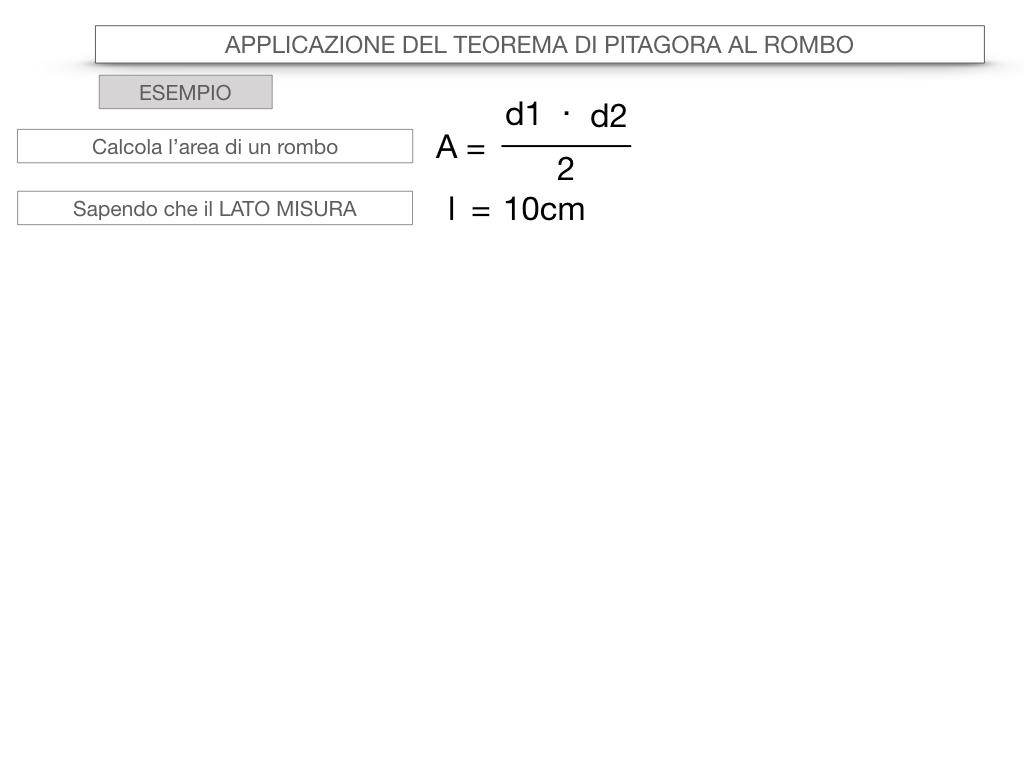 20. APPLICAZIONE DEL TEOREMA DI PITAGORA AL ROMBO_SIMULAZIONE.062