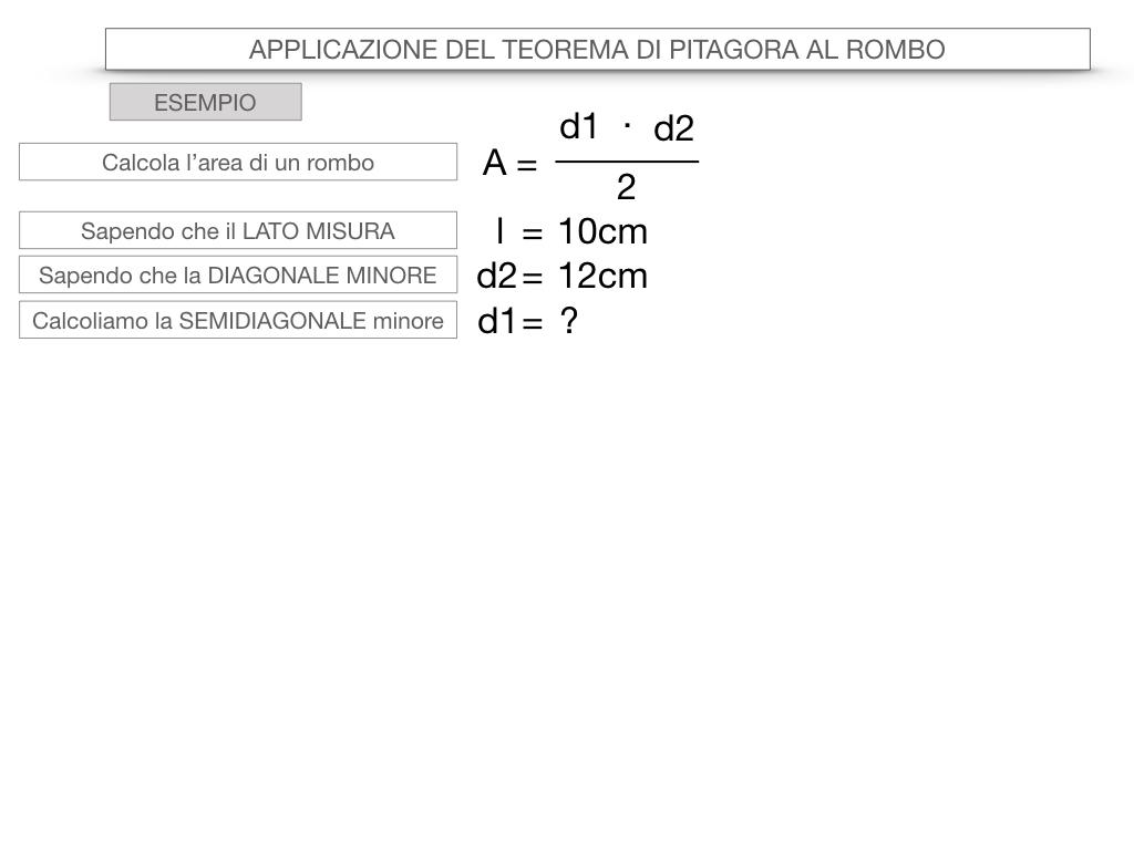 20. APPLICAZIONE DEL TEOREMA DI PITAGORA AL ROMBO_SIMULAZIONE.064