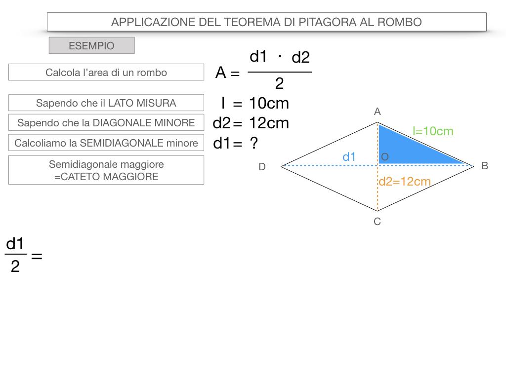 20. APPLICAZIONE DEL TEOREMA DI PITAGORA AL ROMBO_SIMULAZIONE.066