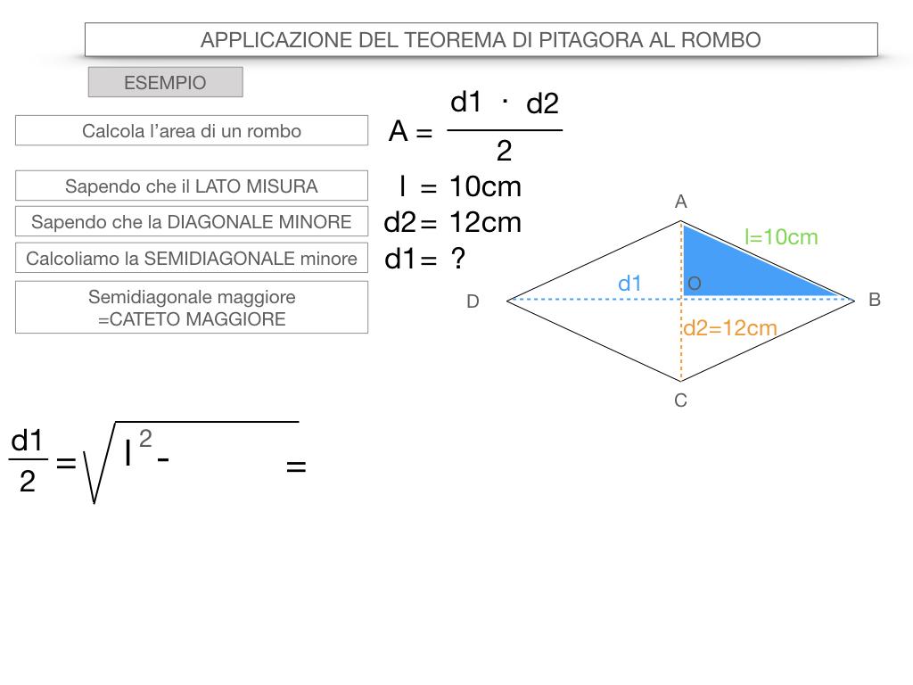 20. APPLICAZIONE DEL TEOREMA DI PITAGORA AL ROMBO_SIMULAZIONE.067