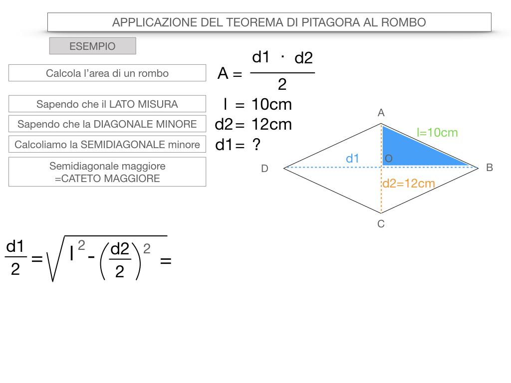 20. APPLICAZIONE DEL TEOREMA DI PITAGORA AL ROMBO_SIMULAZIONE.068