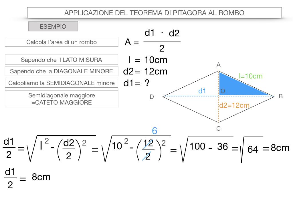 20. APPLICAZIONE DEL TEOREMA DI PITAGORA AL ROMBO_SIMULAZIONE.077